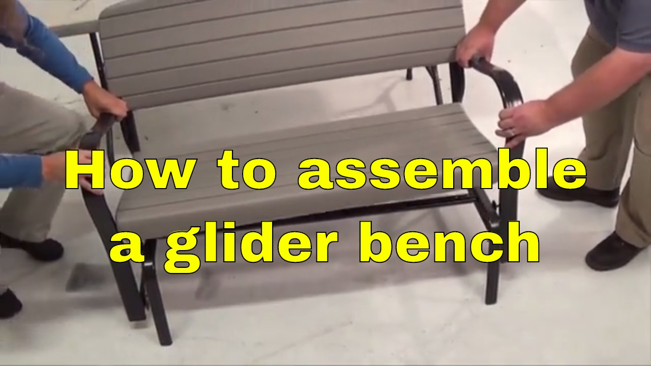 Lifetime 2871 Rocking Glider 4' Bench Assembly Inside Rocking Glider Benches (View 17 of 25)