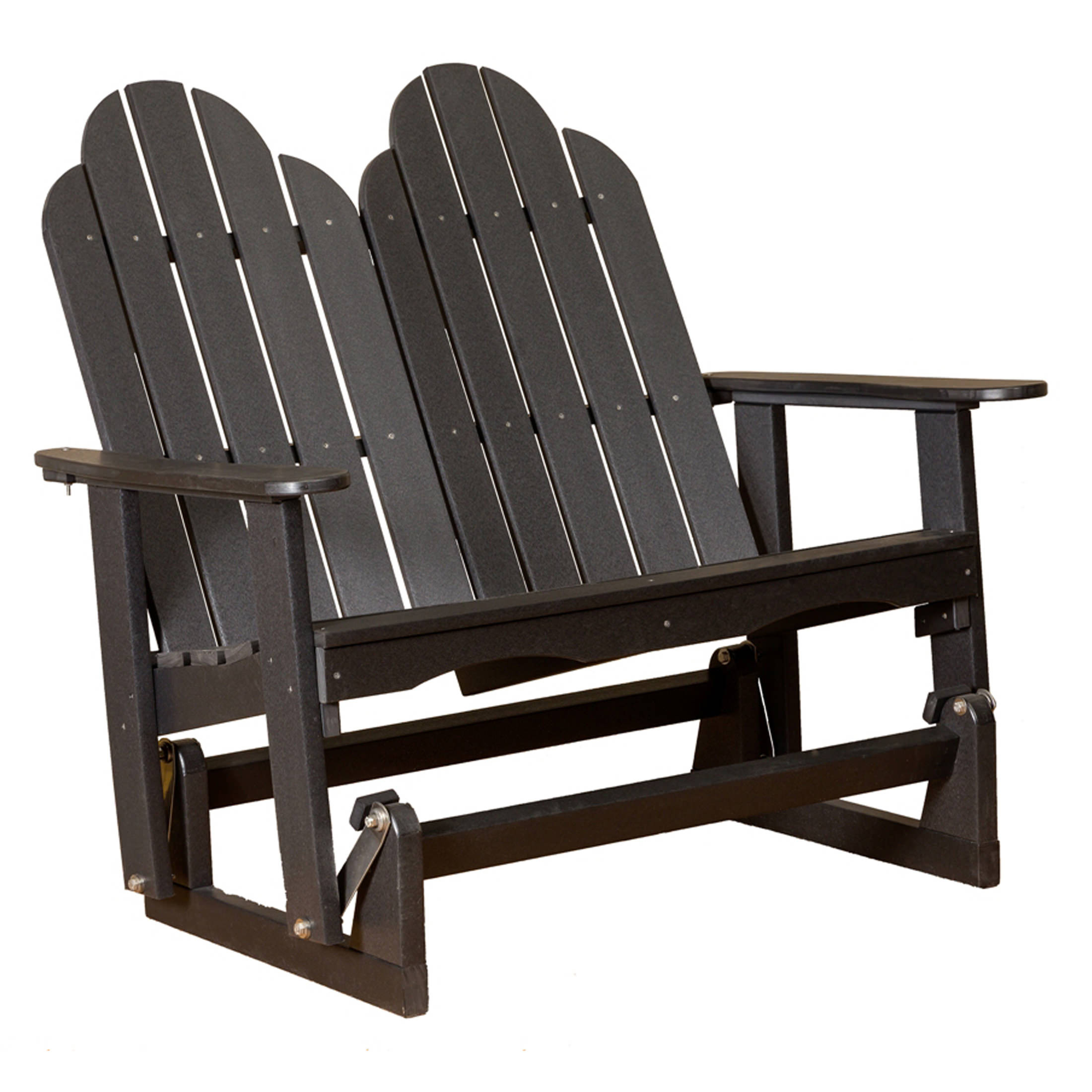 Little Cottage Classic Adirondack Glider With Classic Adirondack Glider Benches (View 14 of 25)