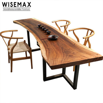 Live Edge Wood Slab Table Conference,solid Acacia Wood Table – Buy Live  Edge Wood Slab,conference Wood Table,acacia Wood Dining Table Product On Intended For Solid Acacia Wood Dining Tables (Image 12 of 25)