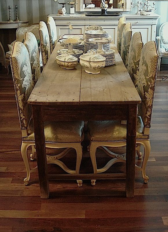 Long Narrow Dining Table |  Table In Pine Wood Original With Rustic Pine Small Dining Tables (View 7 of 25)