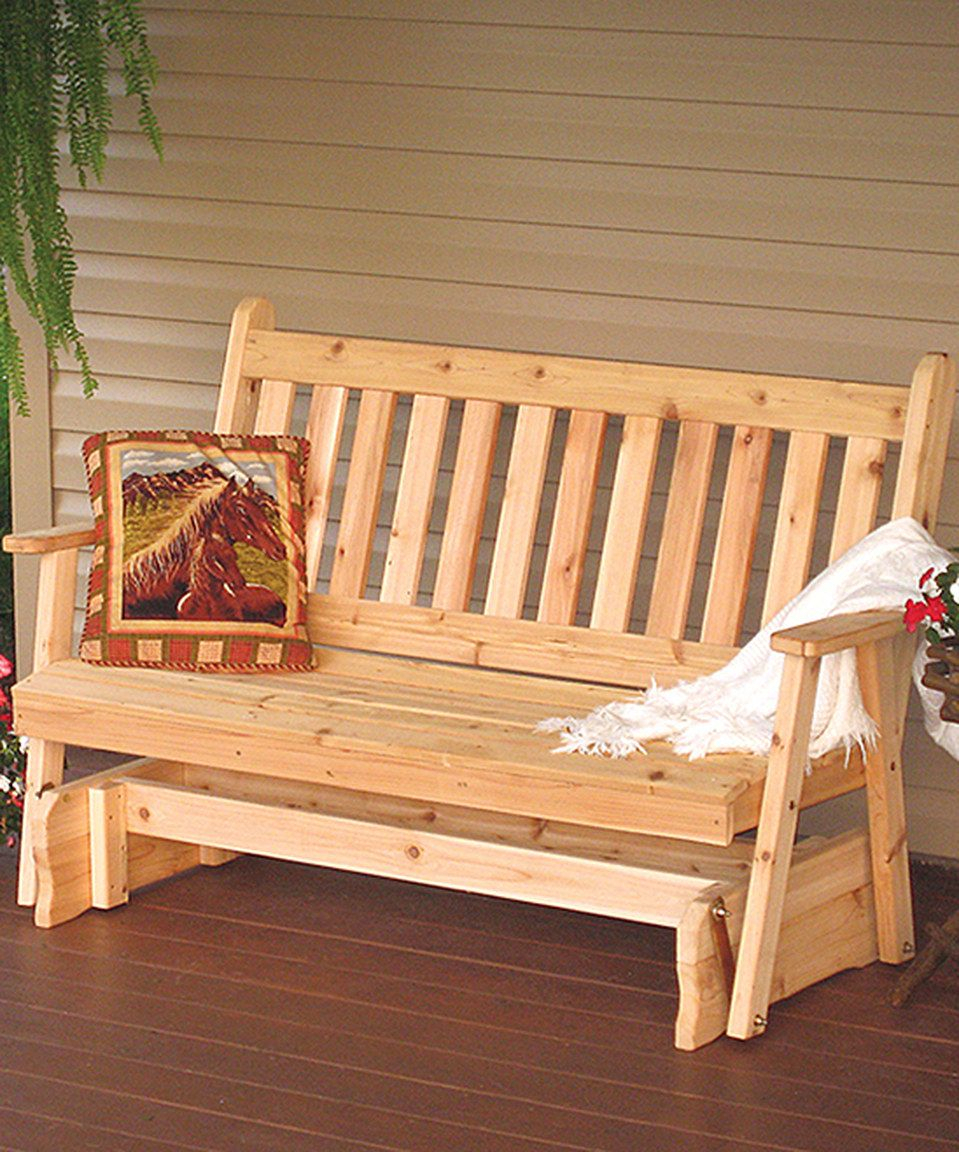 Featured Image of Traditional English Glider Benches