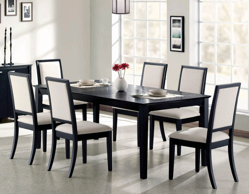 Louise Transitional Rectangular Dining Table With Transitional Rectangular Dining Tables (View 2 of 25)