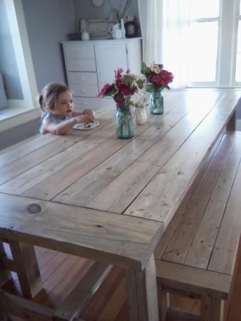 Featured Image of Country Dining Tables With Weathered Pine Finish