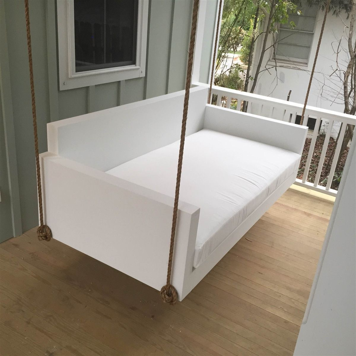 Lowcountry Swing Beds The Moultrie Daybed Swing | Cabana With Regard To Country Style Hanging Daybed Swings (View 11 of 25)