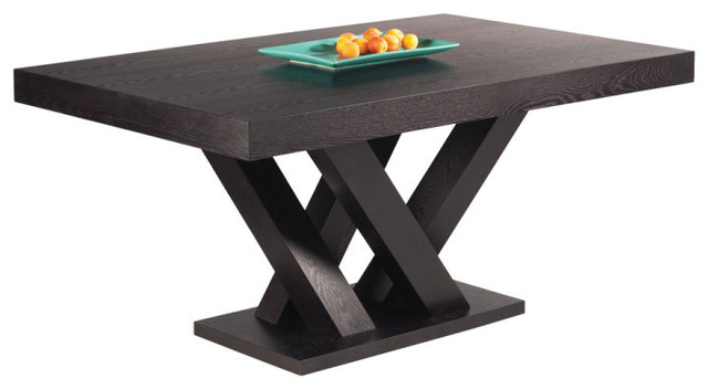 Madero Rectangle Dining Table Large, Dark Espresso Intended For Rectangular Dining Tables (View 2 of 25)
