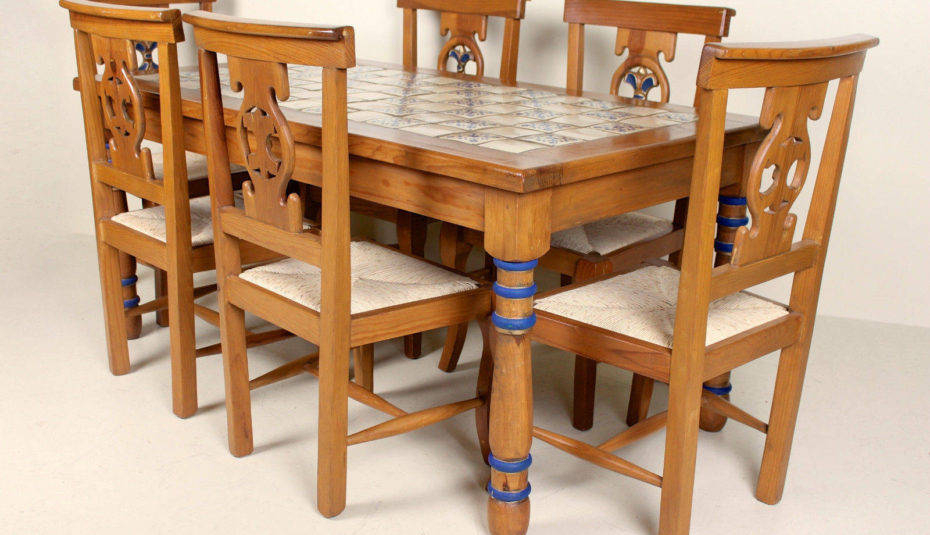 Magnificent Dining Room Furniture Pine Sets Tables And Within Rustic Pine Small Dining Tables (View 12 of 25)