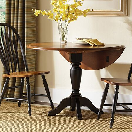 Make A Diy Circular Or Round Drop Leaf Dining Table | Diy Regarding Unfinished Drop Leaf Casual Dining Tables (View 14 of 25)