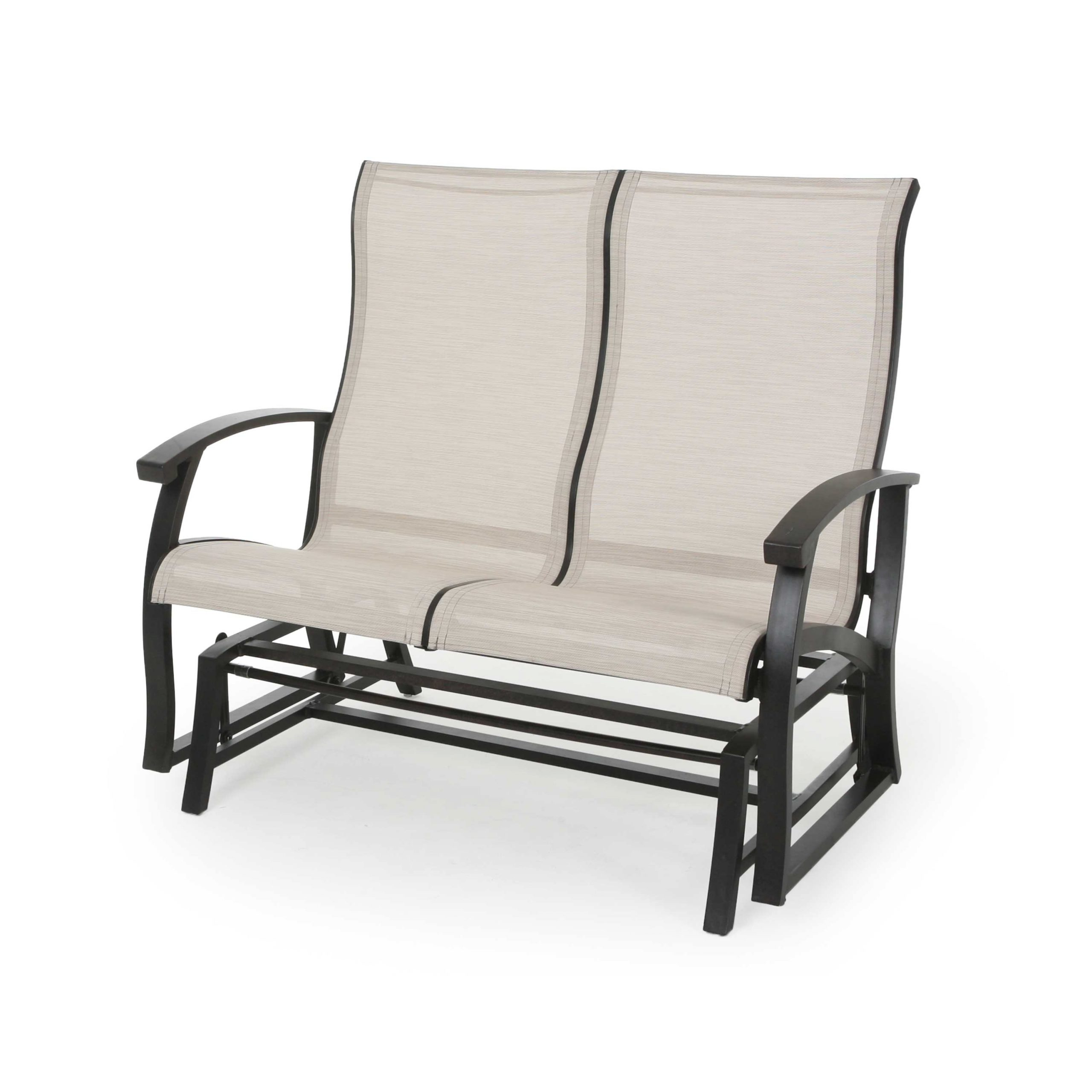 Mallin Georgetown Double Sling Glider Outdoor Furniture For Sling Double Glider Benches (View 12 of 25)