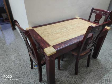 Marble Dining Table For Sale Within Acacia Dining Tables With Black Victor Legs (Image 15 of 25)