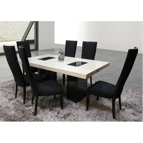 Marble Top Dining Table Set With Dining Tables With White Marble Top (Image 12 of 25)