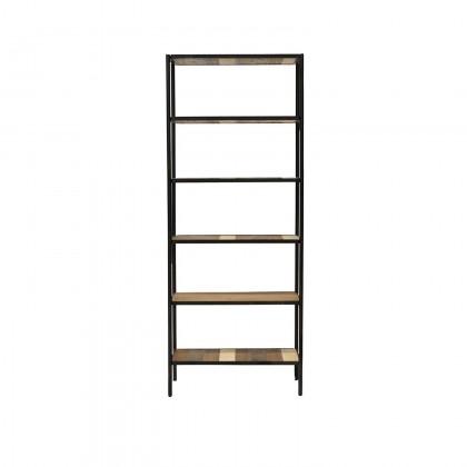 Medley Bookshelf  Small | Cdi Furniture Regarding Acacia Wood Medley Medium Dining Tables With Metal Base (Image 17 of 25)