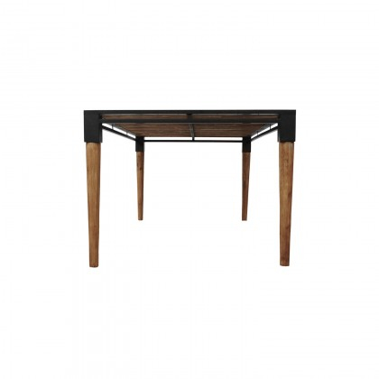 Medley Dining Table  Medium | Cdi Furniture Intended For Acacia Wood Medley Medium Dining Tables With Metal Base (Image 18 of 25)