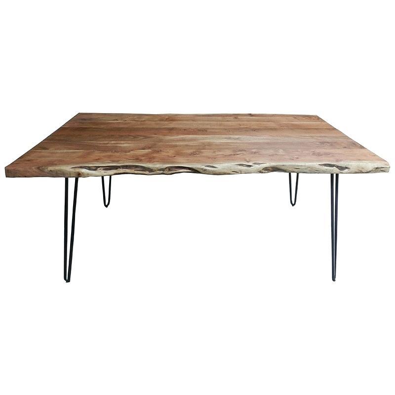 Metal And Wood Dining Table – Pinoytambayanlambingan (View 23 of 25)