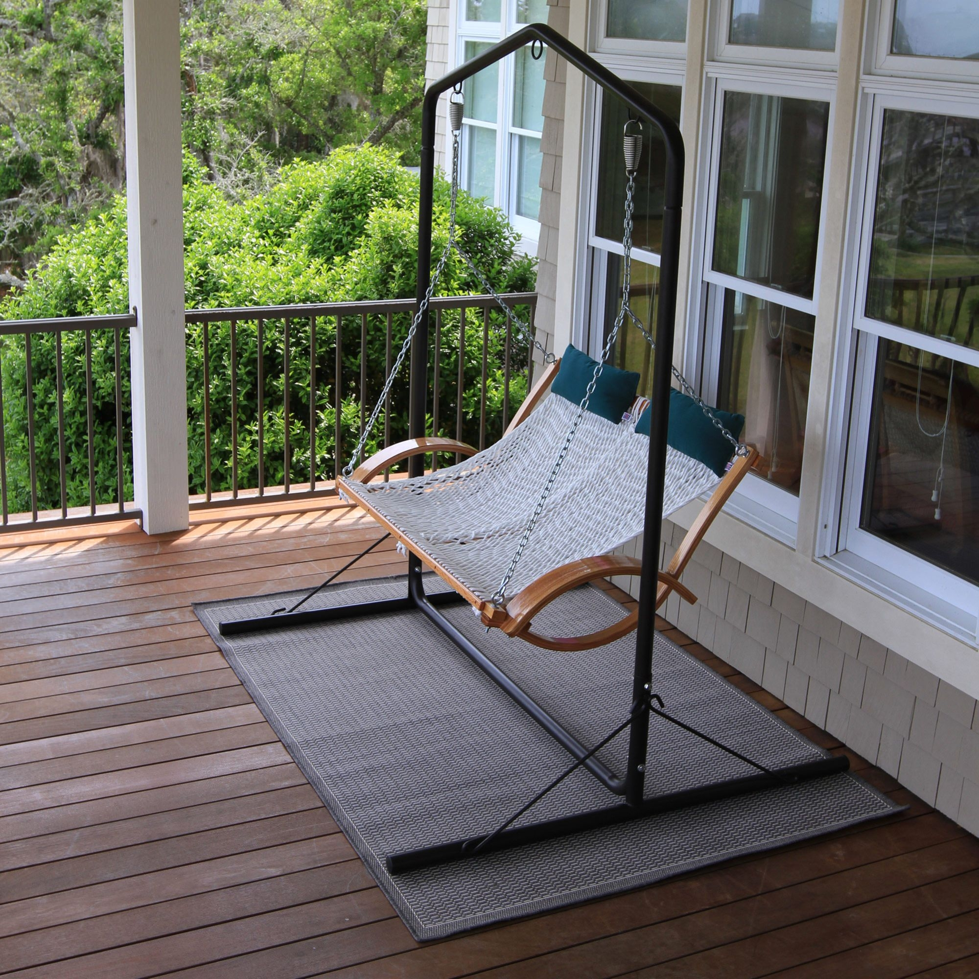 Metal Porch Swings With Stands For Porch Swings With Stand (View 6 of 25)
