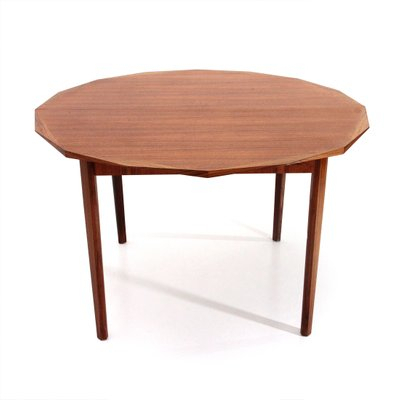 Mid Century Wooden Round Dining Tabletredici, 1960 For Mid Century Rectangular Top Dining Tables With Wood Legs (Image 20 of 25)