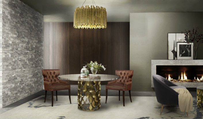 Modern Decor Ideas Match With Round Top Glass Dining Tables With Modern Round Glass Top Dining Tables (Image 10 of 25)