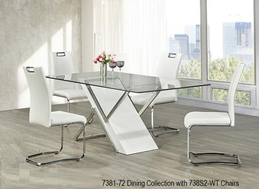 Modern Dining Room Furniture, Glass Dining Tables, Bar Within Glass Top Condo Dining Tables (View 15 of 25)