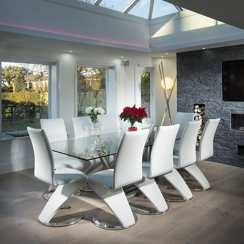 Danish Home Design Ideas: 25 Inspirations Contemporary 4-Seating Oblong Dining