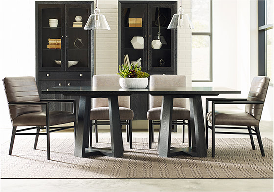 Modern Loft Rectangular Dining Table, Studiostickley Collection – Stickley Furniture For Rectangular Dining Tables (View 4 of 25)
