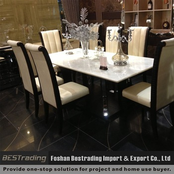 Featured Image of Dining Tables With White Marble Top