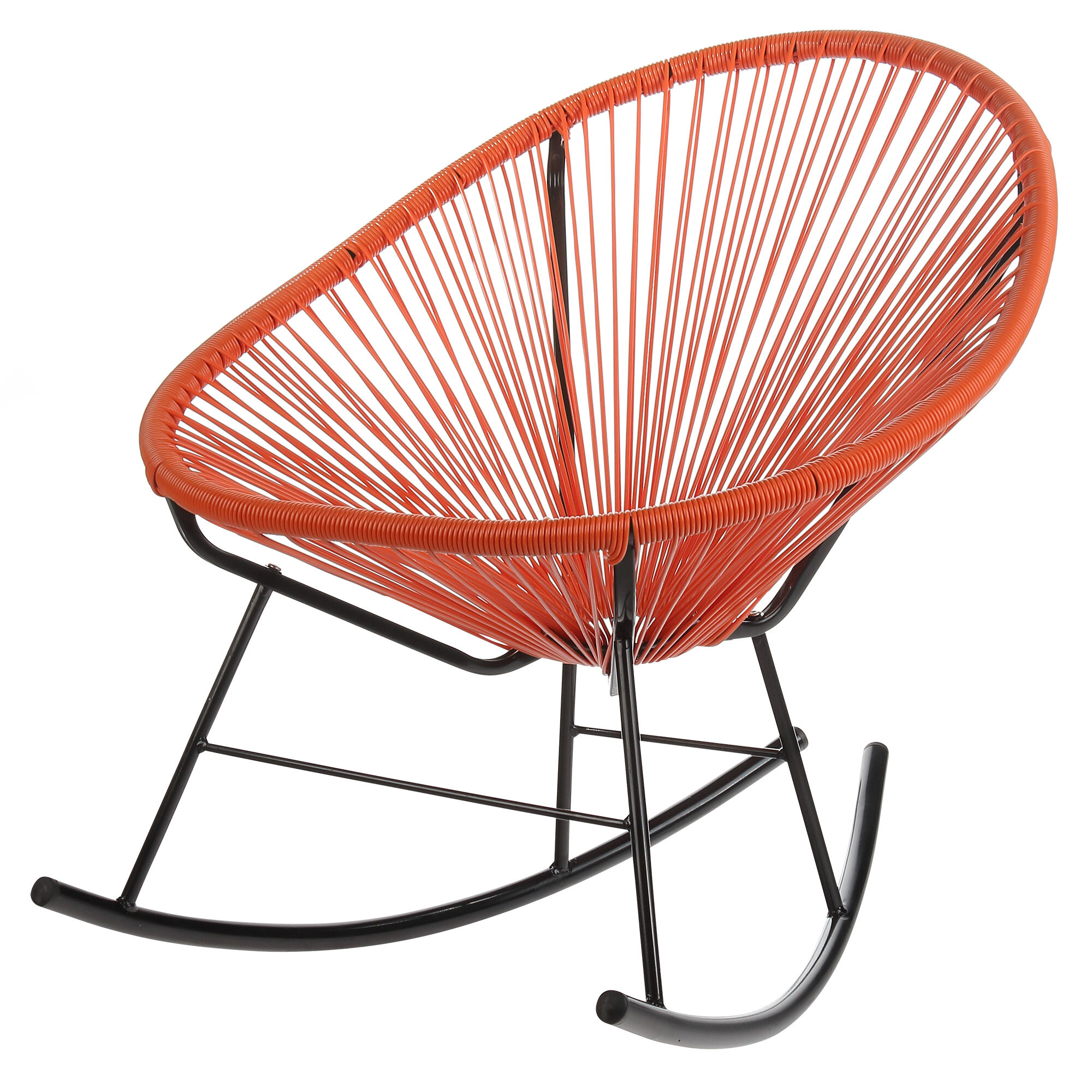 Modern Outdoor Rocking Chairs | Allmodern With Regard To Iron Grove Slatted Glider Benches (View 25 of 26)