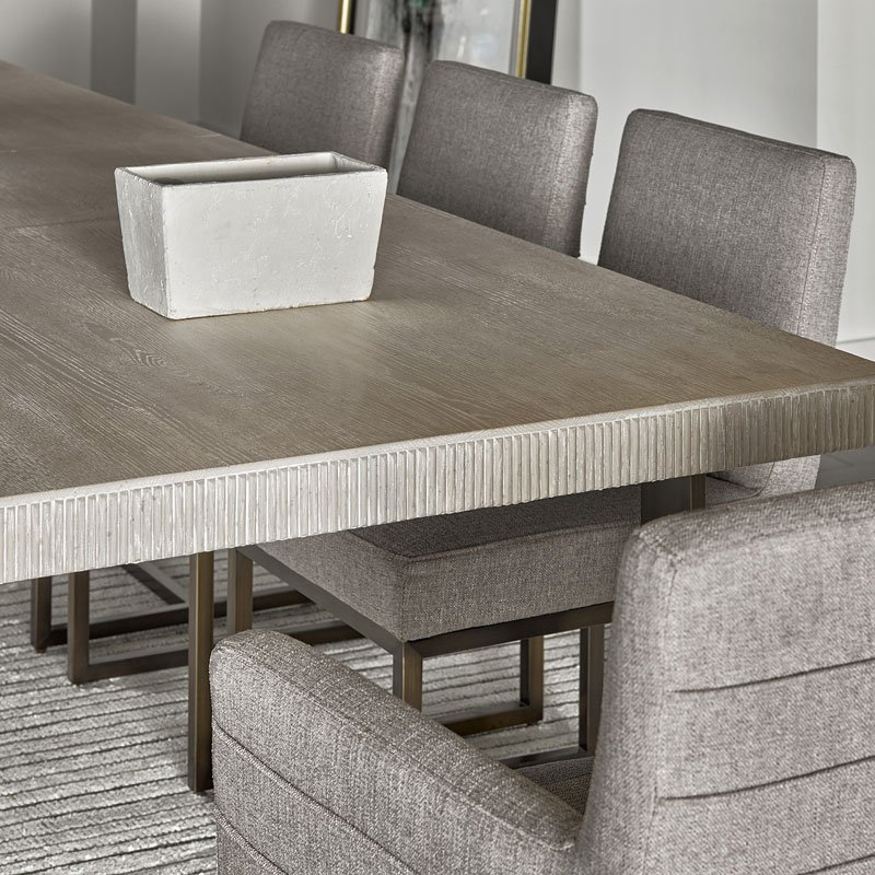 Modern Robards Rectangular Dining Table (Quartz) Regarding Contemporary Rectangular Dining Tables (View 7 of 25)