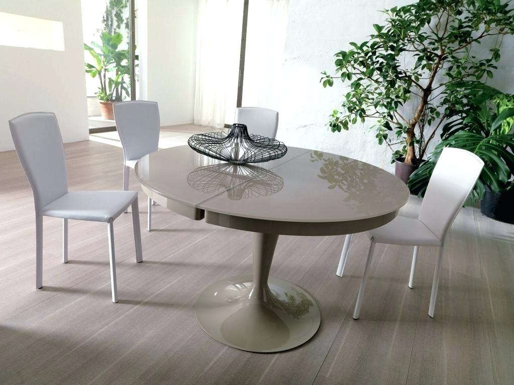 Modern Round Extendable Dining Table – Worldofseeds (Image 13 of 25)