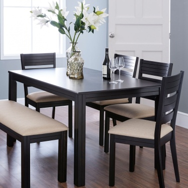 Montoya Dining Table Without Chairs – 6 Seater With Regard To Contemporary 6 Seating Rectangular Dining Tables (View 21 of 25)
