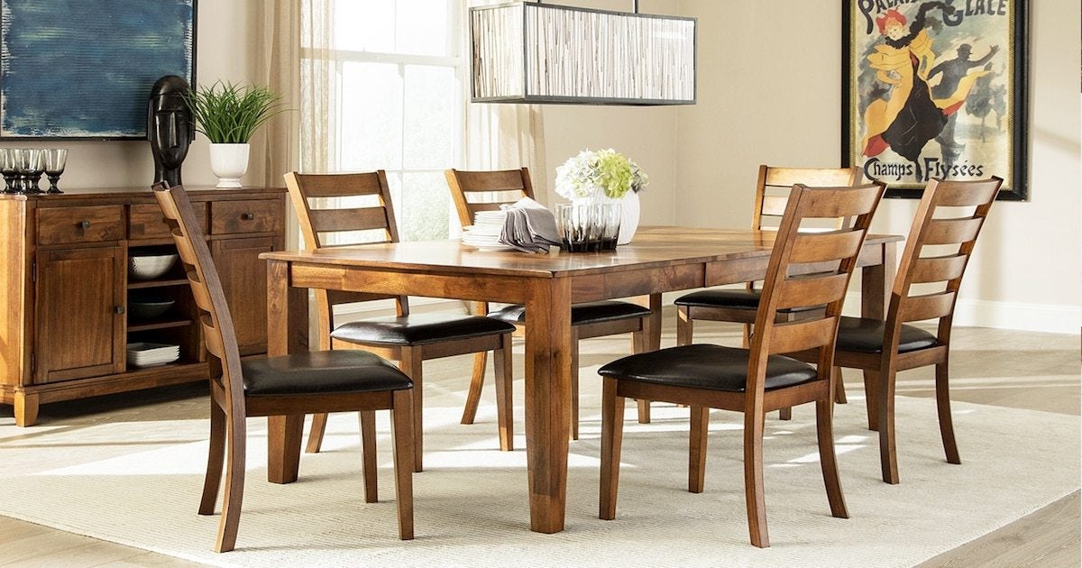 Must Know Faqs About Butterfly Leaf Tables – Overstock Regarding Wood Kitchen Dining Tables With Removable Center Leaf (View 19 of 25)