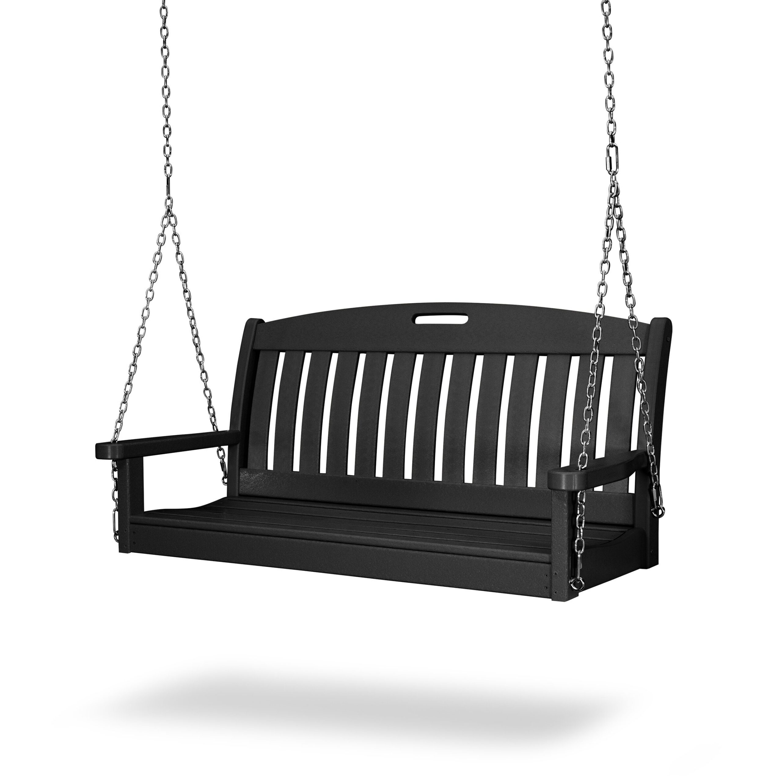 """Nautical 48"""" Porch Swing Throughout Nautical Porch Swings (View 5 of 25)"""