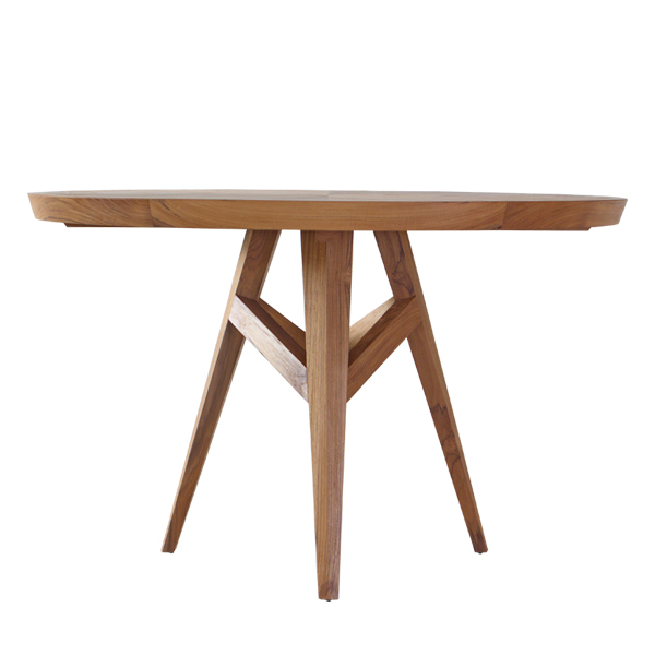 Neo Angulo Round Dining Table | Restaurant Furniture In Neo Round Dining Tables (Image 10 of 25)