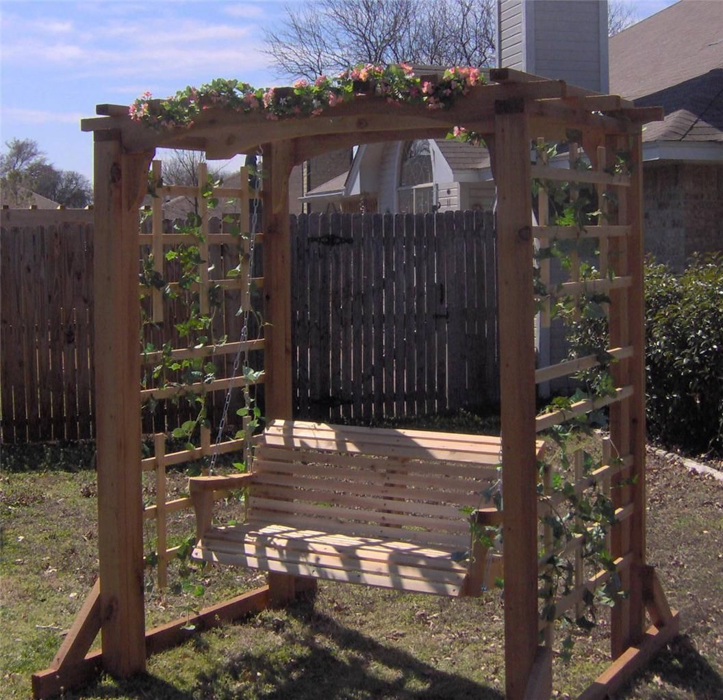 Featured Image of 5 Ft Cedar Swings With Springs