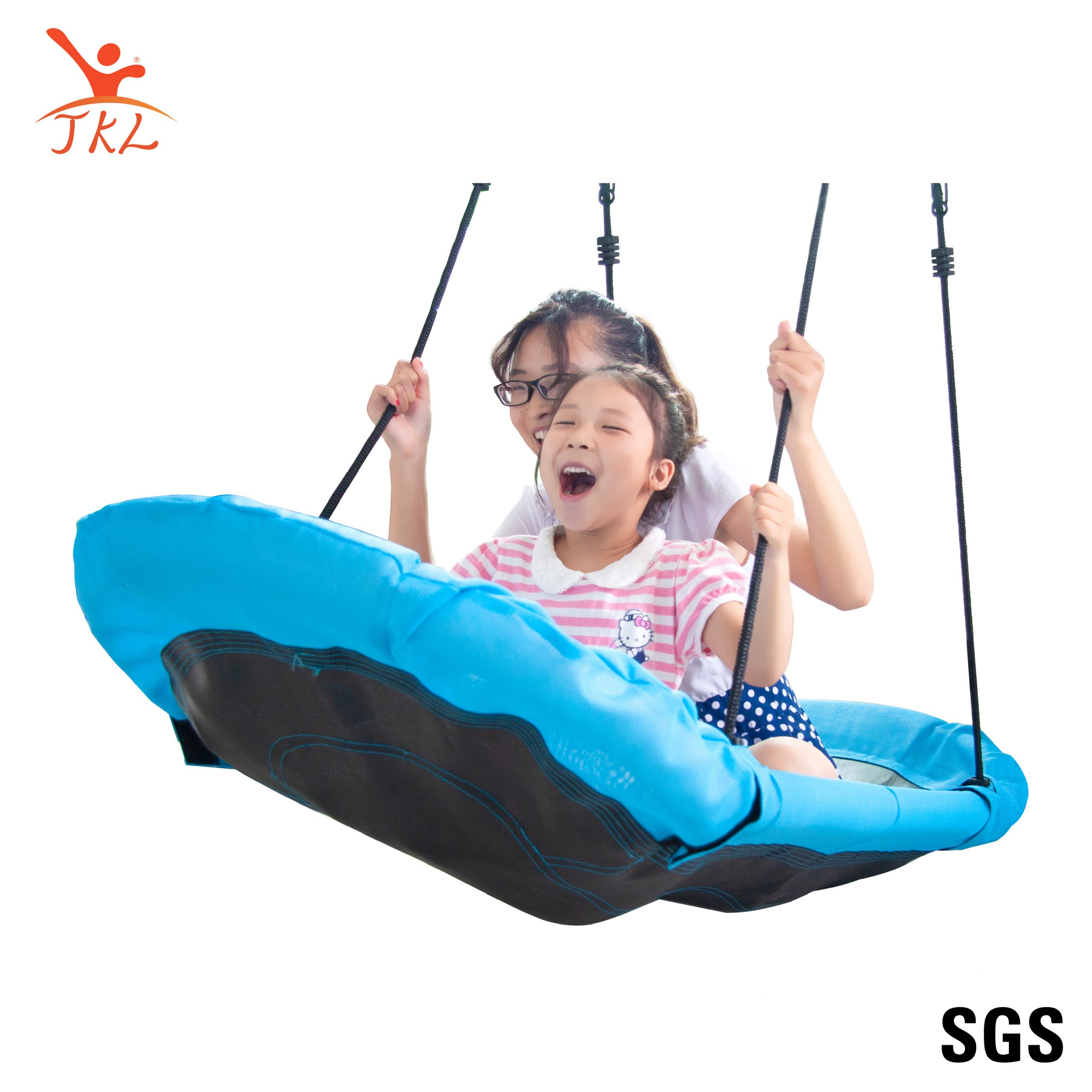 New Ship Shape 167Cmx70Cm Nest Swing With Pe Swing Rope Pertaining To Nest Swings With Adjustable Ropes (View 24 of 25)