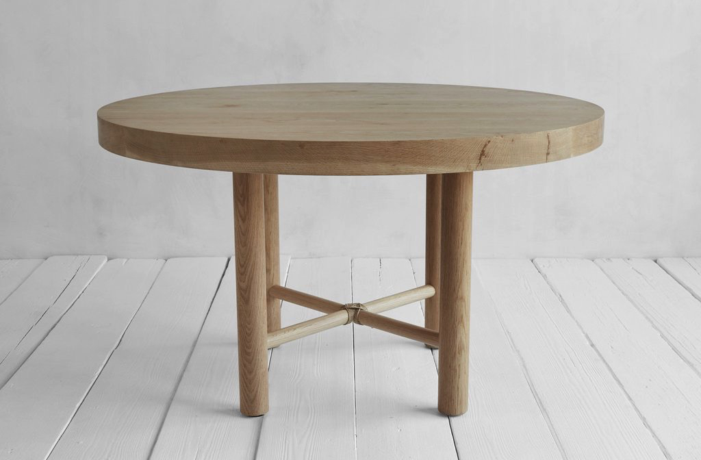 Nickey Kehoe Round Dining Table | Home In 2019 | Round For Solid Wood Circular Dining Tables White (Image 12 of 25)