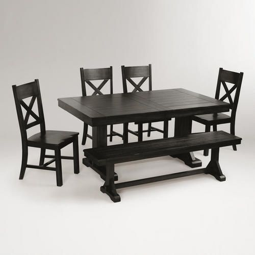 One Of My Favorite Discoveries At Worldmarket: Antique With Antique Black Wood Kitchen Dining Tables (View 6 of 25)