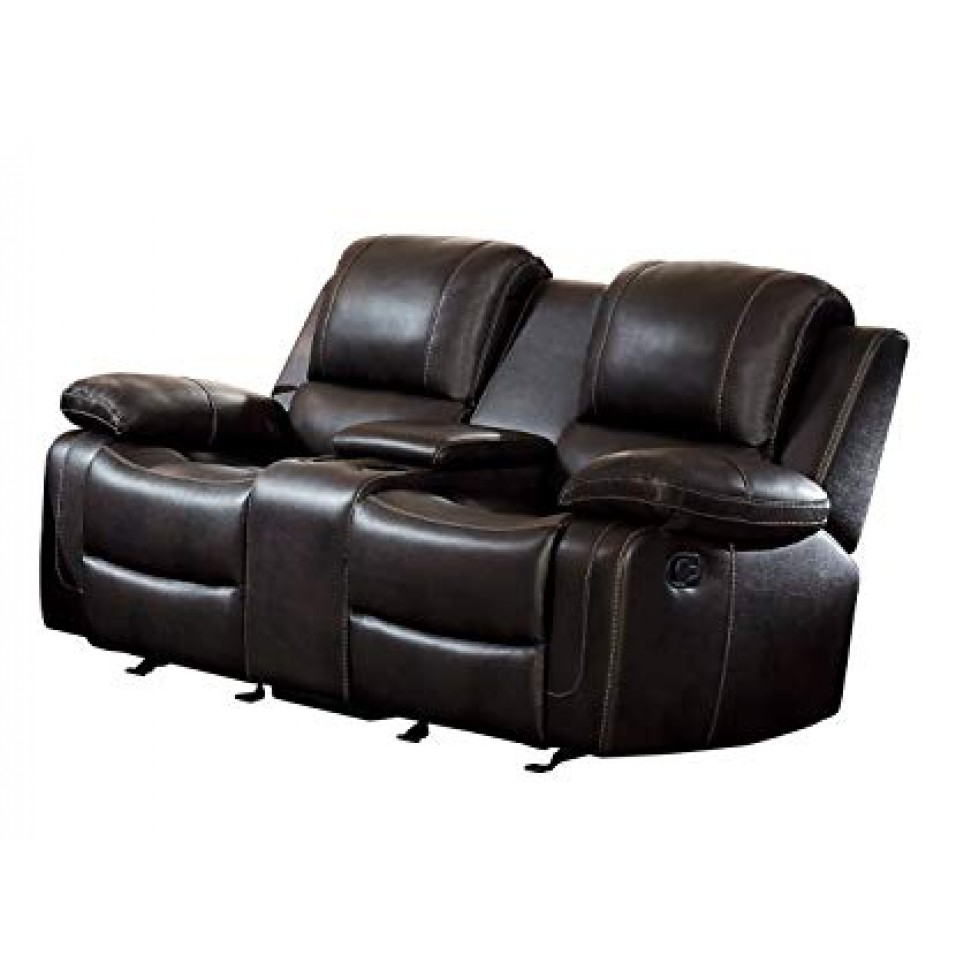 Oriole Double Glider Reclining Loveseat – Francis Campbell In Double Glider Loveseats (Image 20 of 25)