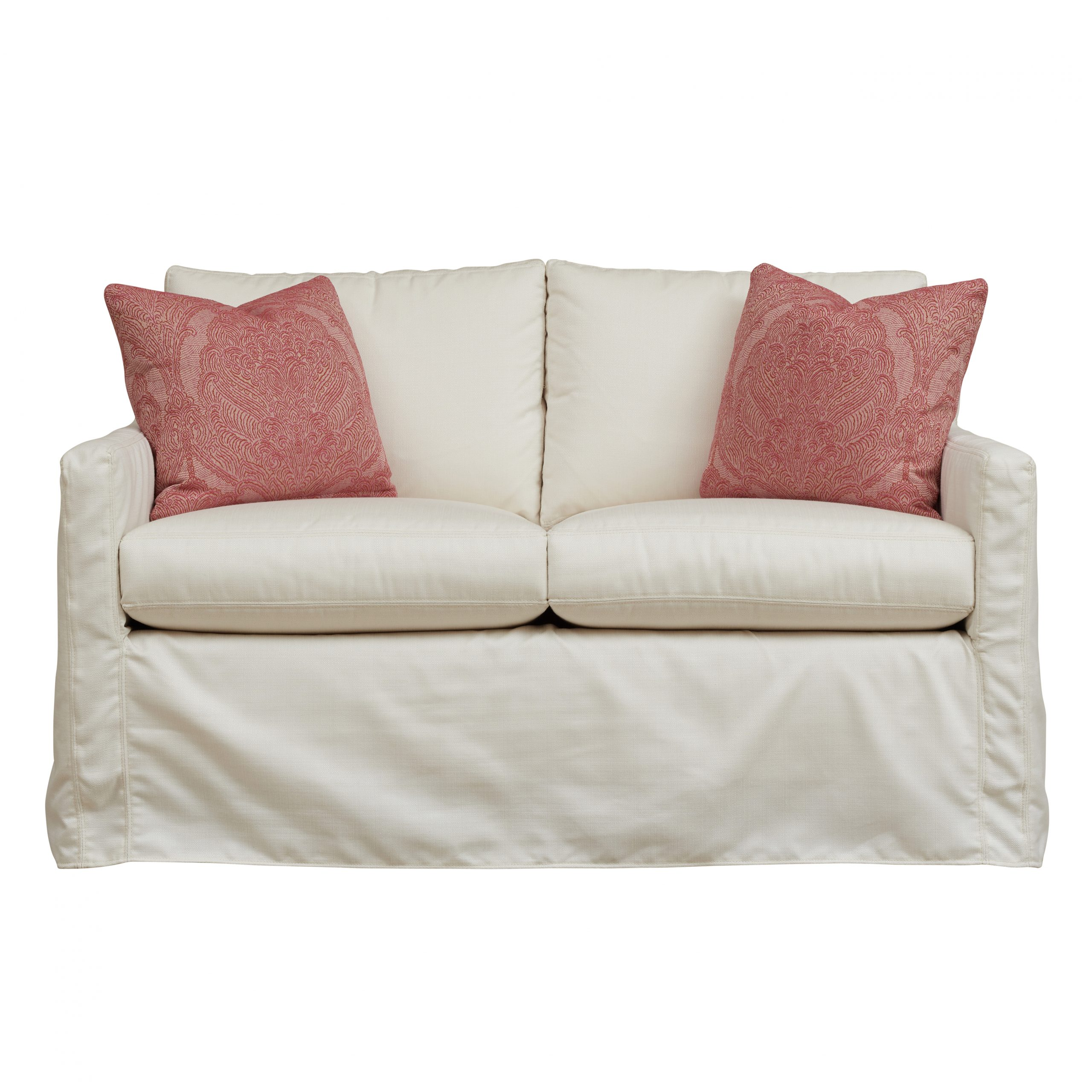 Oscar Outdoor Slipcover Loveseat Glider – Southern Furniture In Loveseat Glider Benches With Cushions (View 13 of 25)
