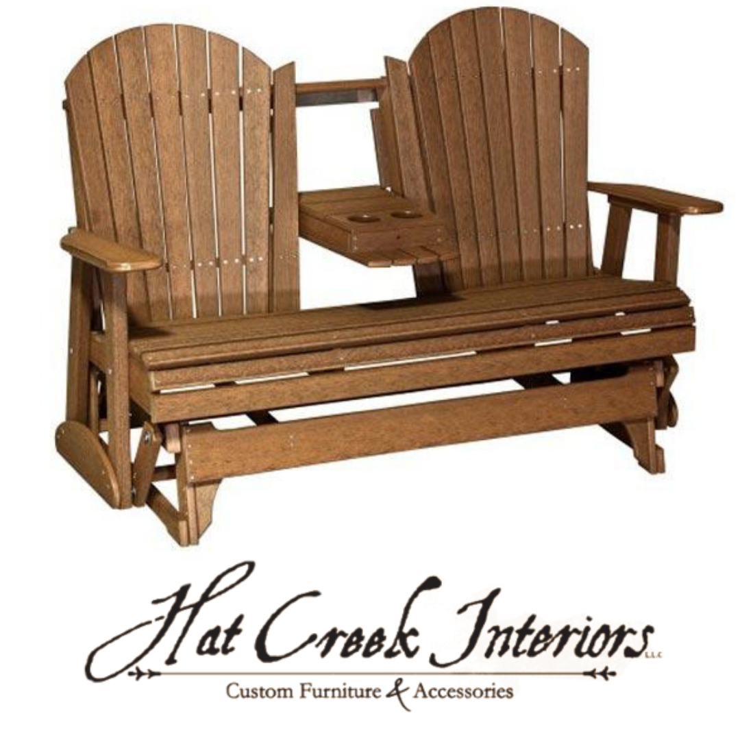 Our Fan Back Outdoor Glider Bench Is The Perfect Place To Inside Fanback Glider Benches (View 12 of 25)