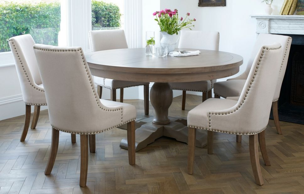 Out & Out // Balmoral Classic 6 Seater Round Dining Set With Regard To Neo Round Dining Tables (Image 15 of 25)