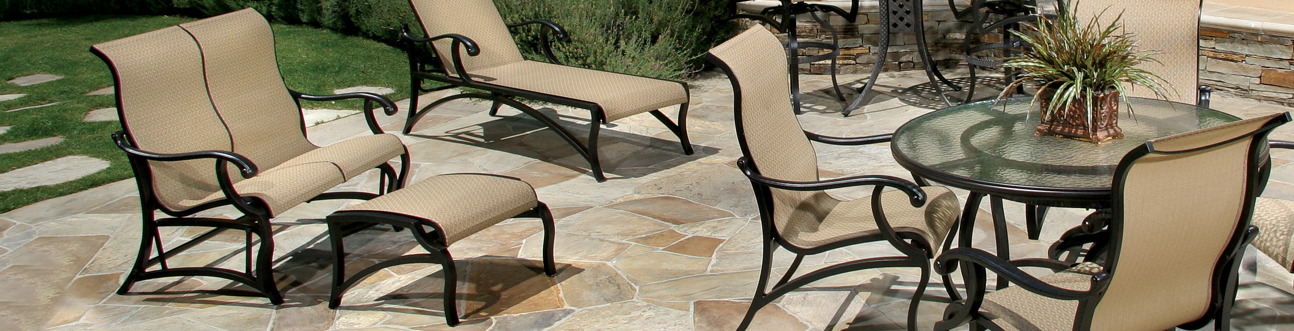Outdoor Chairs: Outdoor Double Gliders | Today's Patio Pertaining To Padded Sling Double Gliders (View 25 of 25)