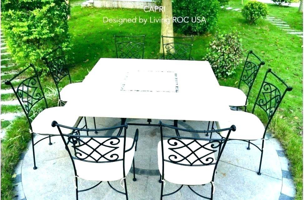 Outdoor Dining Table Cottage Piece Marble Set Top Tables Inside Patio Square Bar Dining Tables (View 10 of 25)