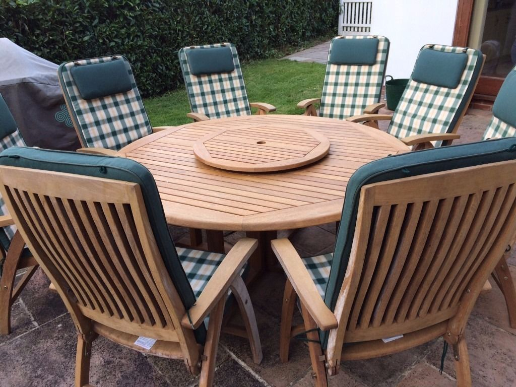 Outdoor Forfar Amish Patio Centres Upholstery Centre Regarding Teak Outdoor Glider Benches (View 25 of 25)