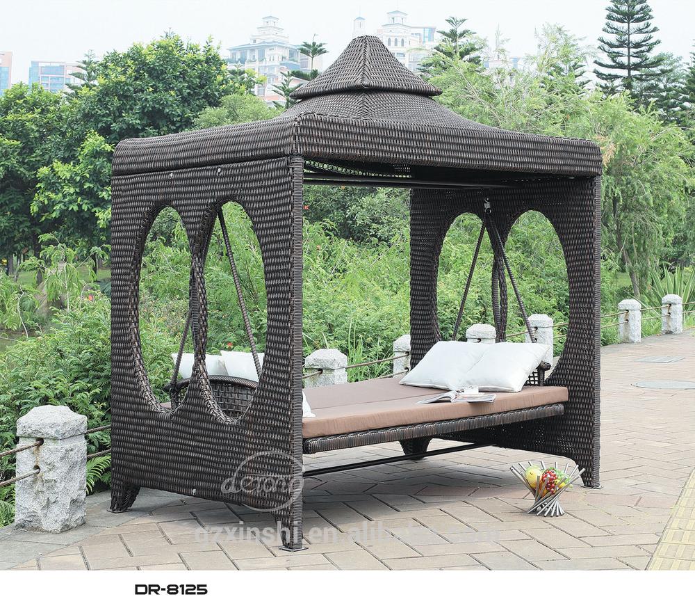 Outdoor Home Garden Double Swing Furniture Hanging Chair – Buy Indoor Outdoor Swing Chair,patio Garden Swing Chairs,reclining Outdoor Swing Chair Inside Rattan Garden Swing Chairs (View 6 of 25)