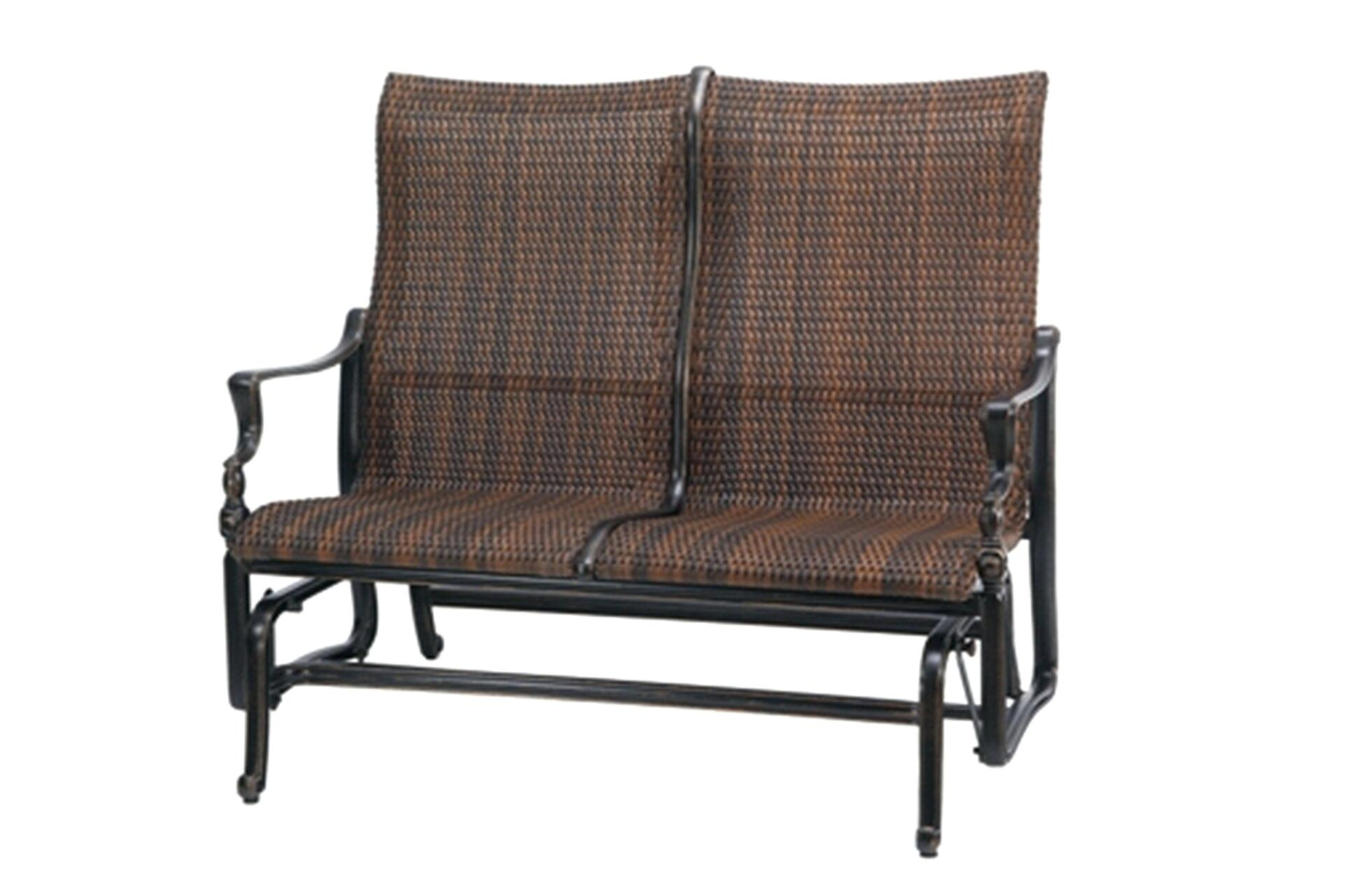 Outdoor Loveseat Glider – Mryoung (View 10 of 25)