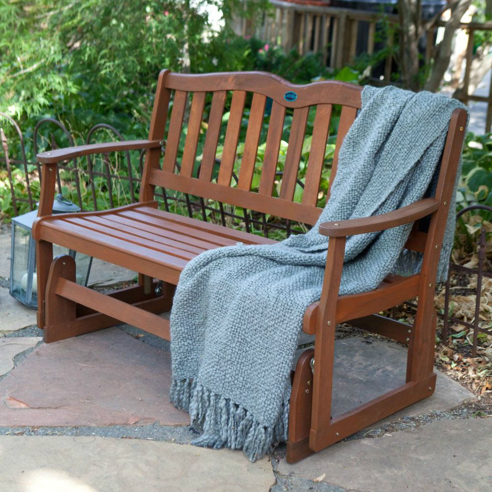 Outdoor Patio Glider Bench Rocker Loveseat Porch Deck Swing Intended For Outdoor Patio Swing Porch Rocker Glider Benches Loveseat Garden Seat Steel (View 16 of 25)