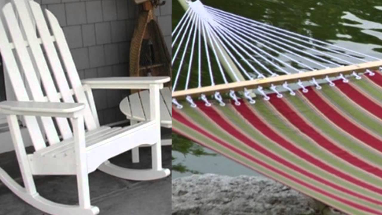 Outdoor Rocking Chairs, Gliders, Porch Swings, Hammocks & More With Comfort Rocking (View 25 of 25)