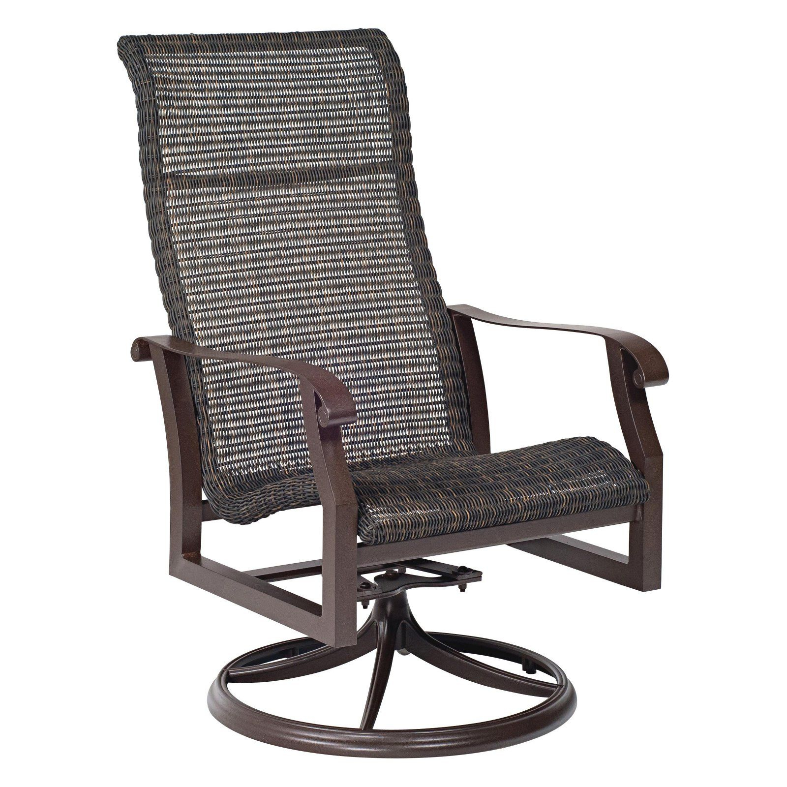 Featured Image of Woven High Back Swivel Chairs