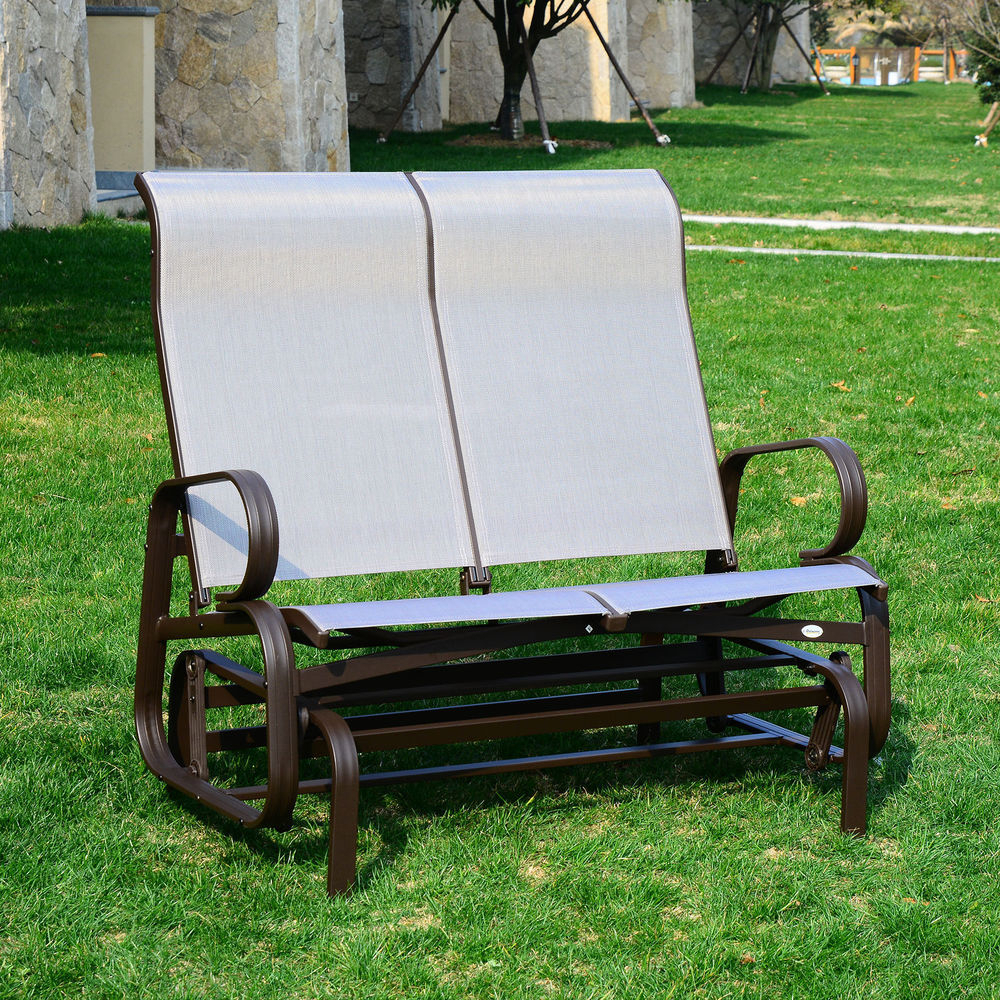 Outside Glider Chairs – Facingwalls Inside Traditional English Glider Benches (View 25 of 25)