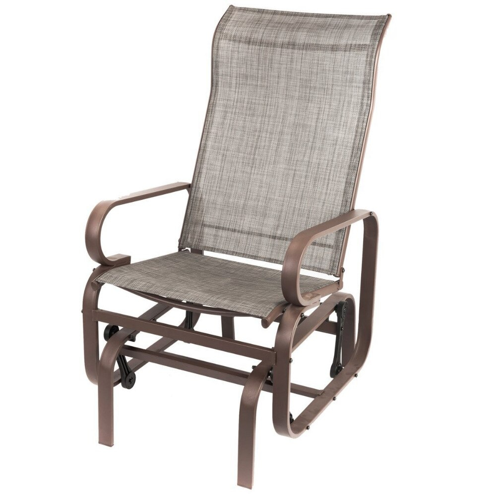 Outside Glider Chairs – Facingwalls Within Outdoor Patio Swing Glider Bench Chairs (View 18 of 25)