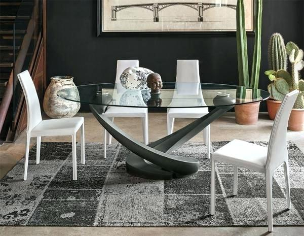 Oval Dining Tables For 8 – Weafrica Organisation Inside Contemporary 4 Seating Oblong Dining Tables (View 23 of 25)